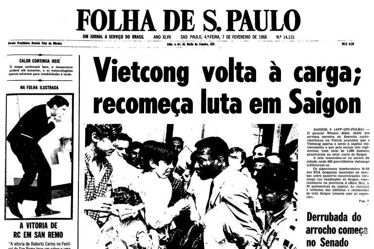 Vietcongues entram em Saigon, e Guerra do Vietnã se intensifica