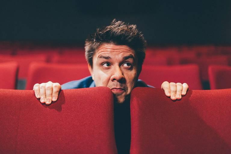 Retrato do humorista Oscar Filho; ele fará parte da atração da Record