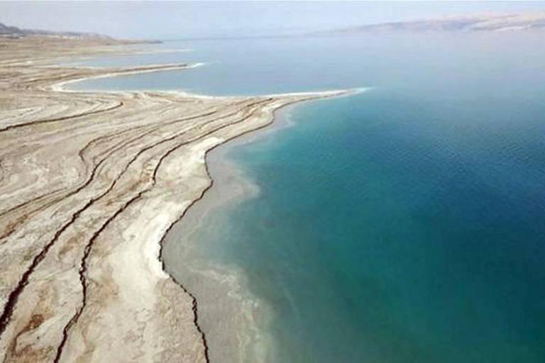 Vista do mar Morto