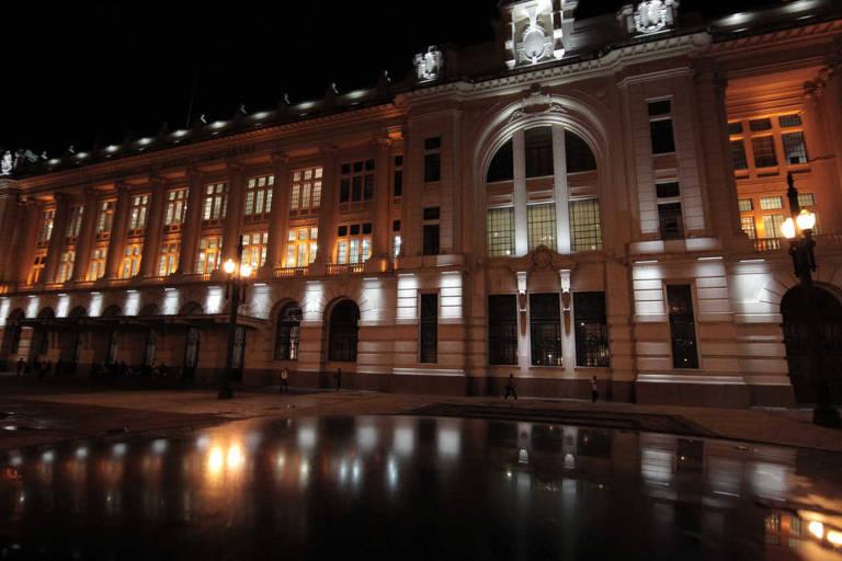 Fachada da Sala São Paulo, inaugurada em 1999