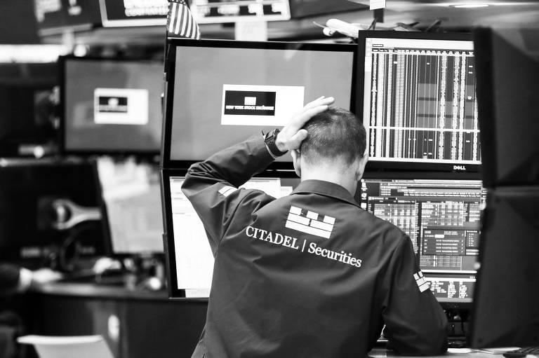 Bolsa de Nova York; S&P 500 encerrou um raro período de quase dois anos de alta sem maiores sobressaltos