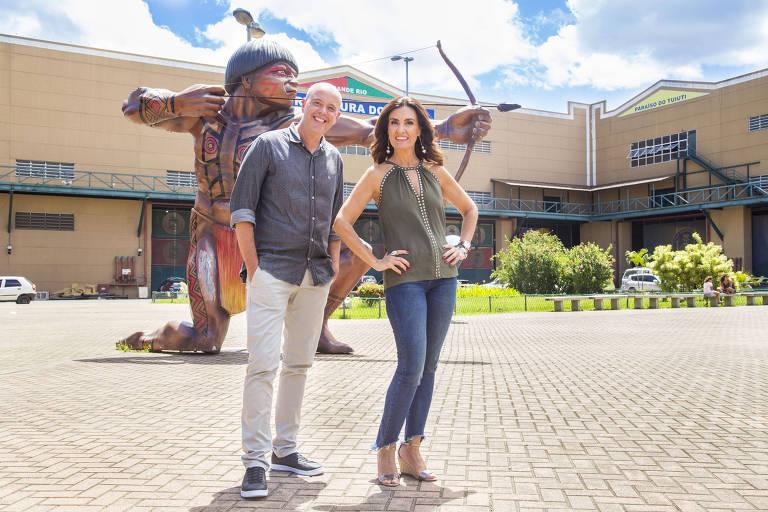 Alex Escobar e Fátima Bernardes farão a cobertura do Carnaval do Rio na Globo