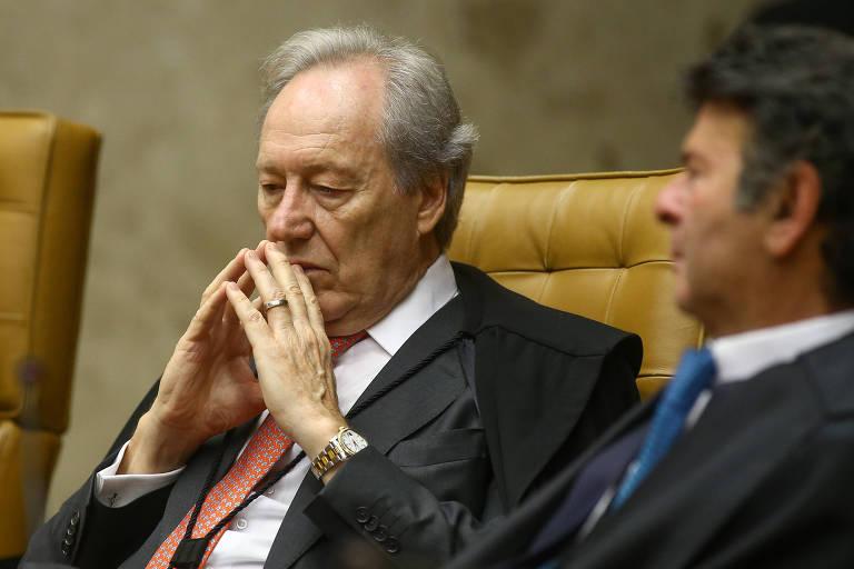 O Ministro Ricardo Lewandowski participa da Sessão de Abertura do Ano Judiciário no STF