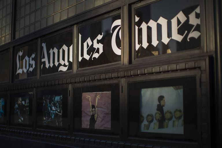 Prédio do Los Angeles Times em Los Angeles, na Califórnia