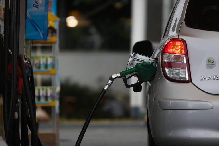 Posto de gasolina em São Paulo