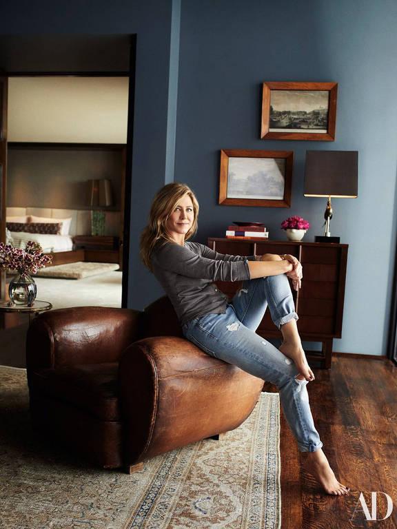 Jennifer Aniston mostra a mansão de US$ 21 milhões onde mora com o marido, Justin Theroux