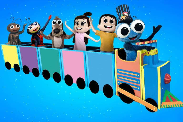 Peça infantil 'Bob Zoom em O Trem de Ferro'