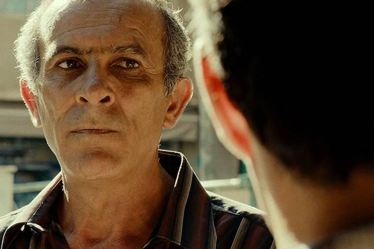 O ator Kamel El Basha em cena do filme 'O Insulto'