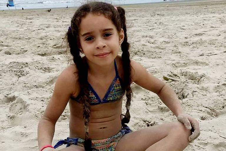 Adrielly Vitória Gonçalves, que morreu no último sábado (3), depois de inalar desodorante