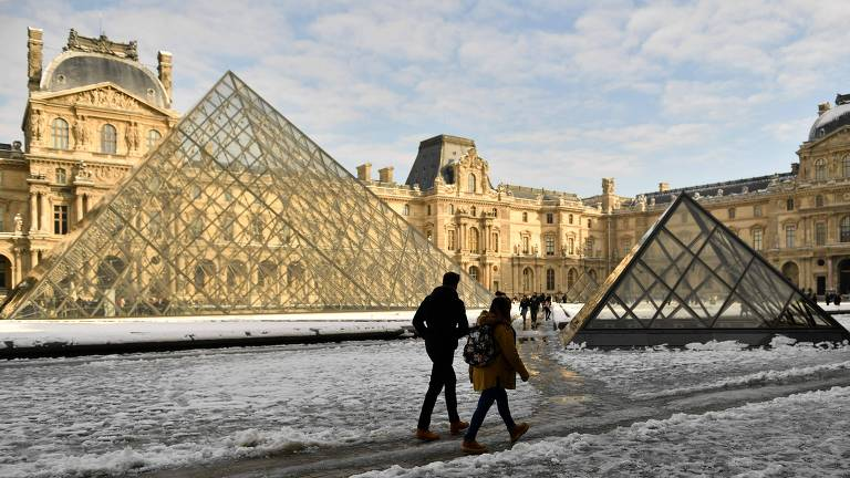 Neve na França