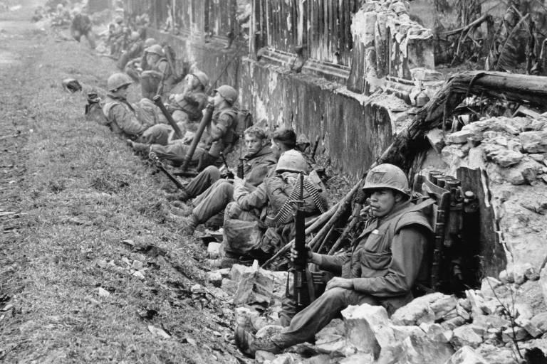 EUA e sul-vietnamitas lançam ofensiva contra vietcongs em Hue