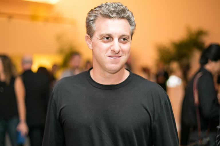 O apresentador Luciano Huck