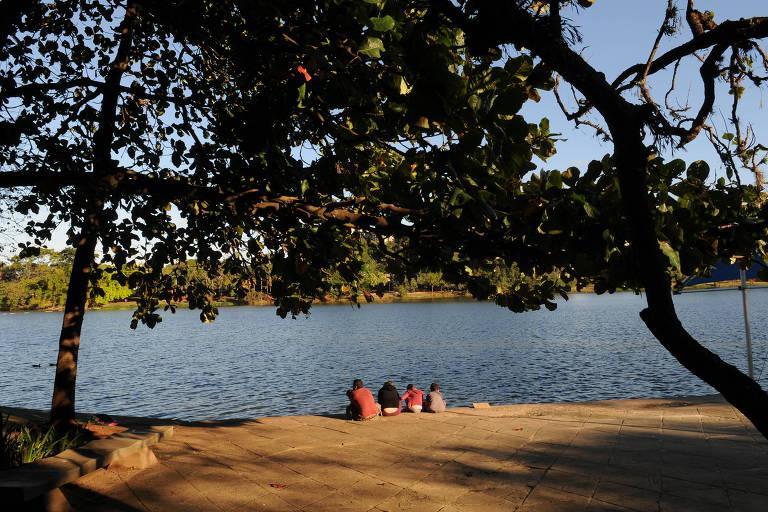 Lagoa do Taquaral, em Campinas