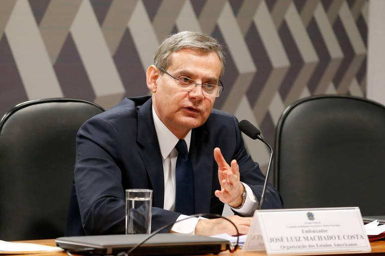 José Luiz Machado e Costa, embaixador do Brasil na OEA (Organização dos Estados Americanos) e presidente da Comissão de Segurança Hemisférica do órgão