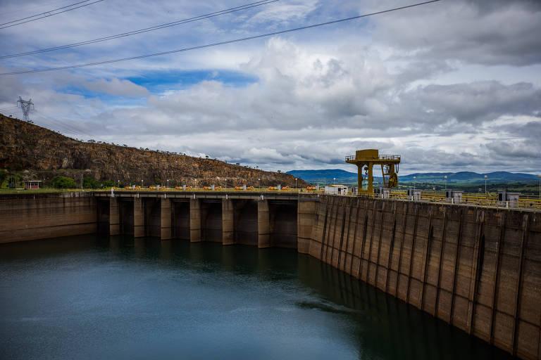 Usina hidrelétrica de Furnas, em Capitólio (MG)