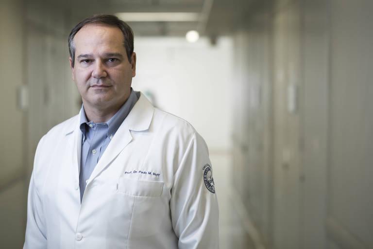 O oncologista Paulo Hoff,49, no Icesp