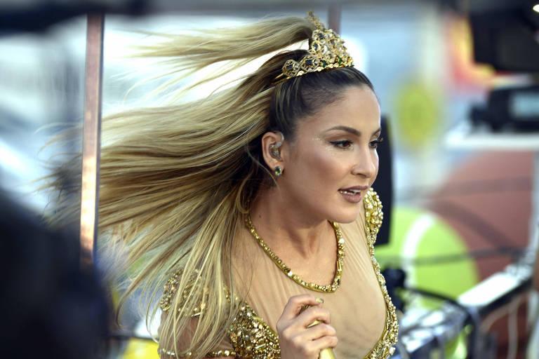Claudia Leitte comanda o Carnaval no primeiro dia oficial da folia de Salvador