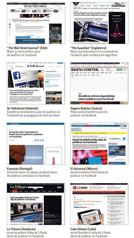Repercussão da decisão da Folha sobre o Facebook