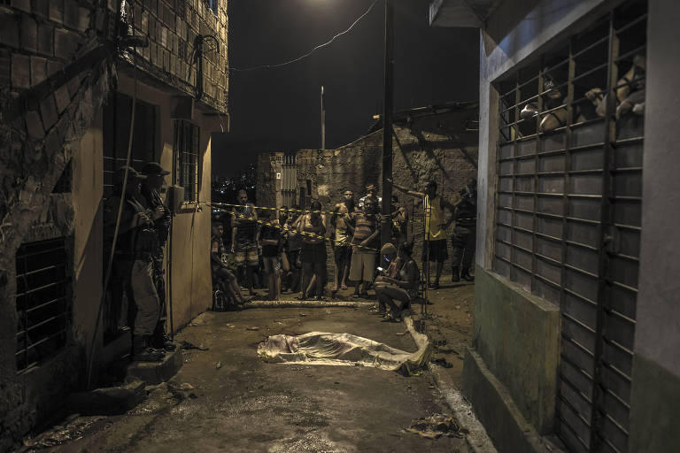 Homicídio no bairro da Macaxeira, periferia do Recife