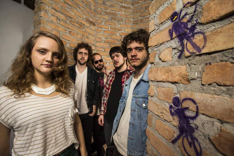 A banda Garotas Suecas se apresenta no Sesc Interlagos
