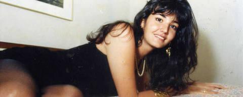 A transexual em mais um ensaio para o ?NP?, em 1990