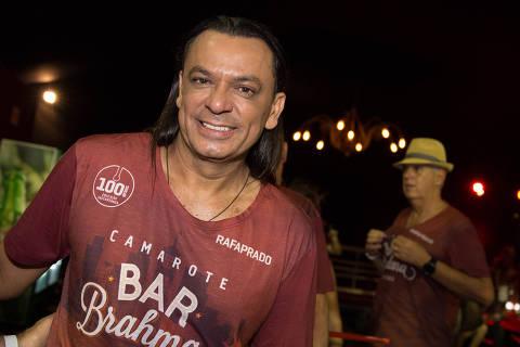 Sao Paulo, 09/02/2018- Frank Aguiar na abertura do desfiles das escolas de samba de s‹o paulo