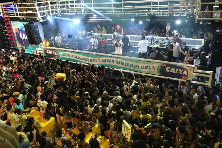 Famosos no Carnaval em Salvador