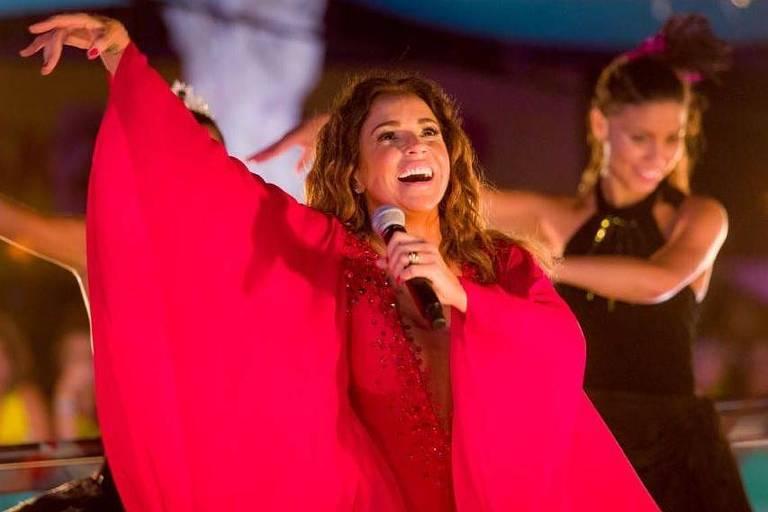 Daniela Mercury canta no Carnaval de Salvador de 2018