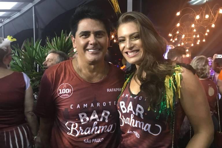 Famosos curtem o 2º dia do Carnaval de São Paulo