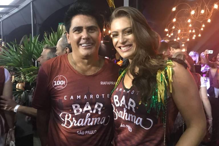 César Filho e Elaine Mickely