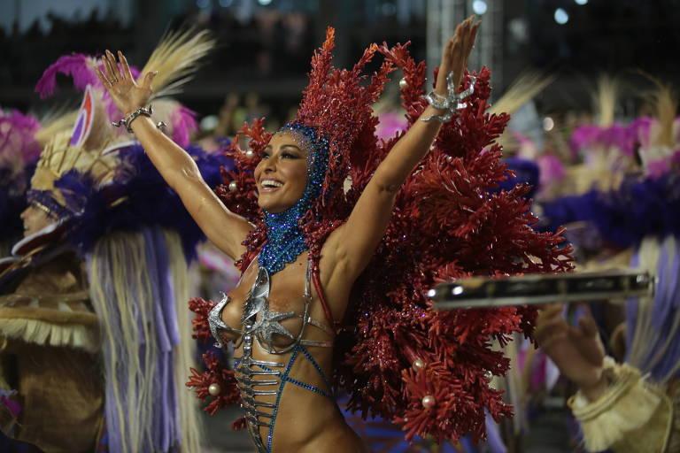 Desfile da Escola de Samba Gaviões da Fiel