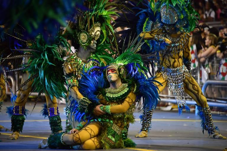 Desfile da Escola de Samba Unidos de Vila Maria