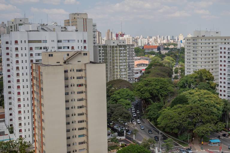 Prédios na Zona Norte de São Paulo