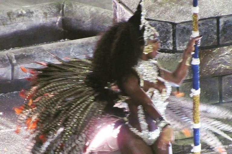 Egili Oliveira, musa das escolas de samba São Clemente e Renascer de Jacarepaguá