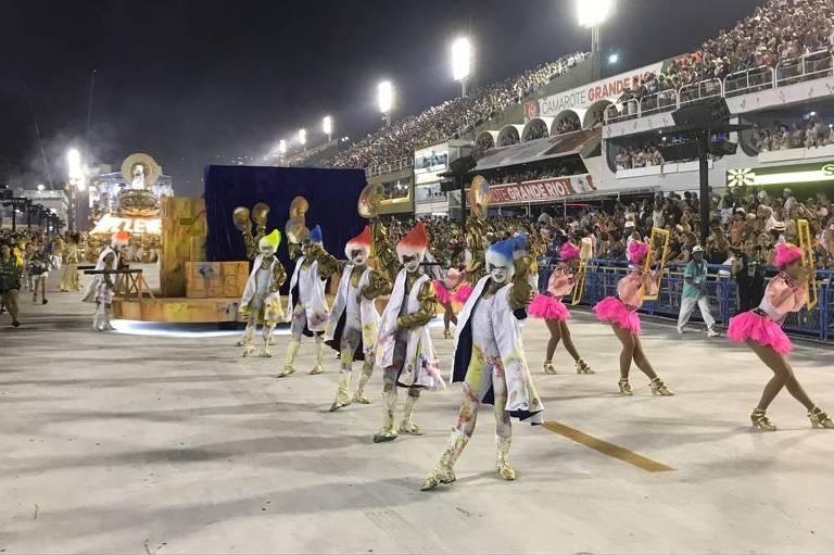 Desfile da São Clemente  na Marquês de Sapucaí