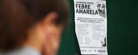 SAO PAULO/SP BRASIL. 17/01/2018 -Fila para vacina da febre amarela na UBS da rua Boraceia na barra funda.(foto: Zanone Fraissat/FOLHAPRESS, COTIDIANO)***EXCLUSIVO***