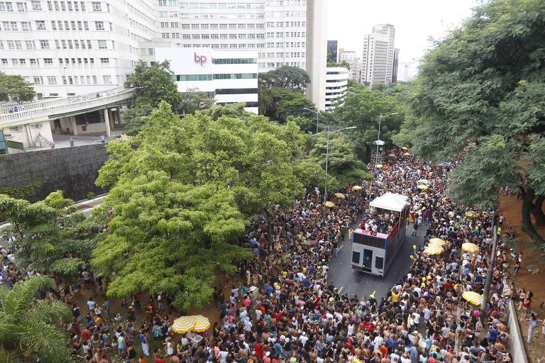 Novo circuito de Carnaval na 23 de Maio, que passa ao lado do Hospital Beneficência Portuguesa