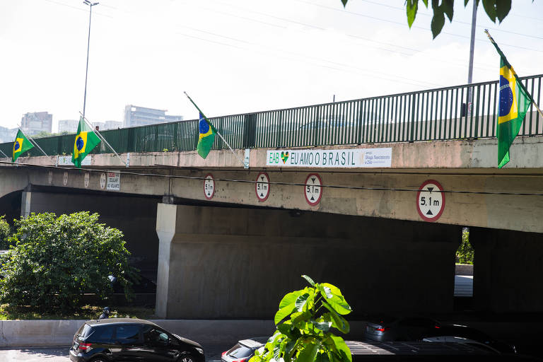 As bandeiras do Eu Amo o Brasil