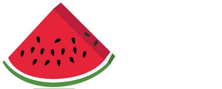 Ilustração de melancia
