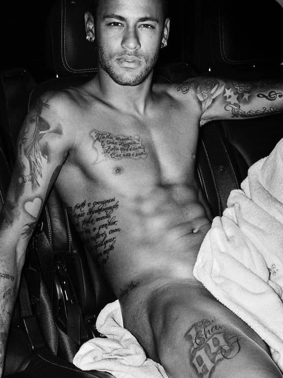 Neymar fotografado por Mario Testino