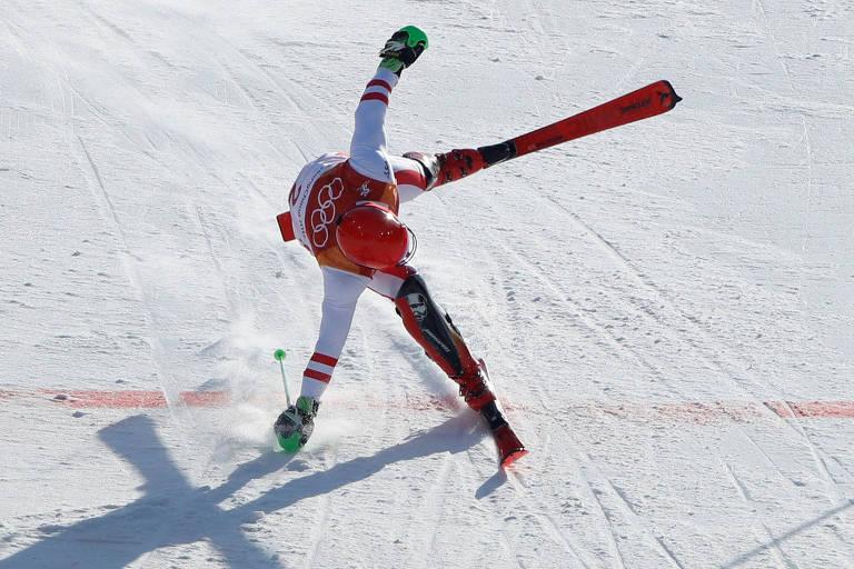 Olimpíadas de inverno nesta terça-feira