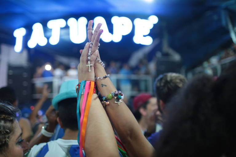 Quadra da escola de samba Acadêmicos da Tatuapé, que venceu o Carnaval de 2018