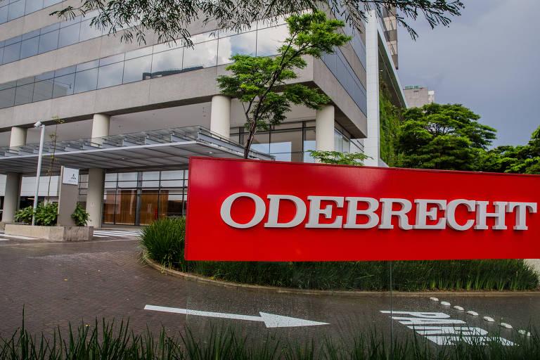Fachada da sede da Odebrecht na zona oeste de São Paulo - Folhapress