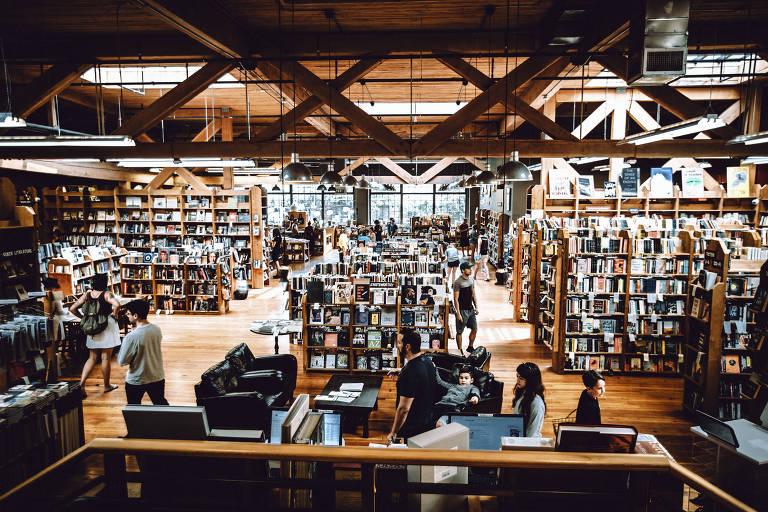 Literatura dá selo de criatividade a Seattle