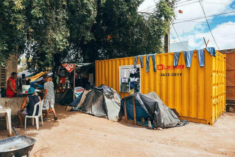 Abrigo para venezuelanos em Boa Vista, Roraima; cidade já recebeu cerca de 40 mil refugiados