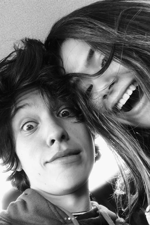 Maisa e Nicholas Arashiro