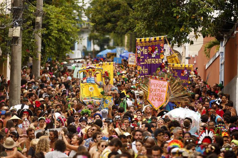 Bloco Me Enterra na Quarta no Rio de Janeiro