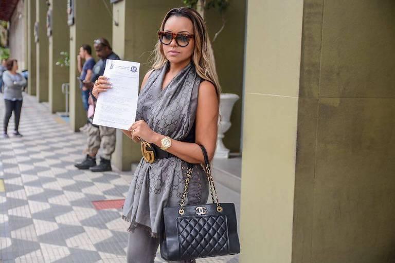 A passista Ana Beatriz Godói processa Luisa Mell