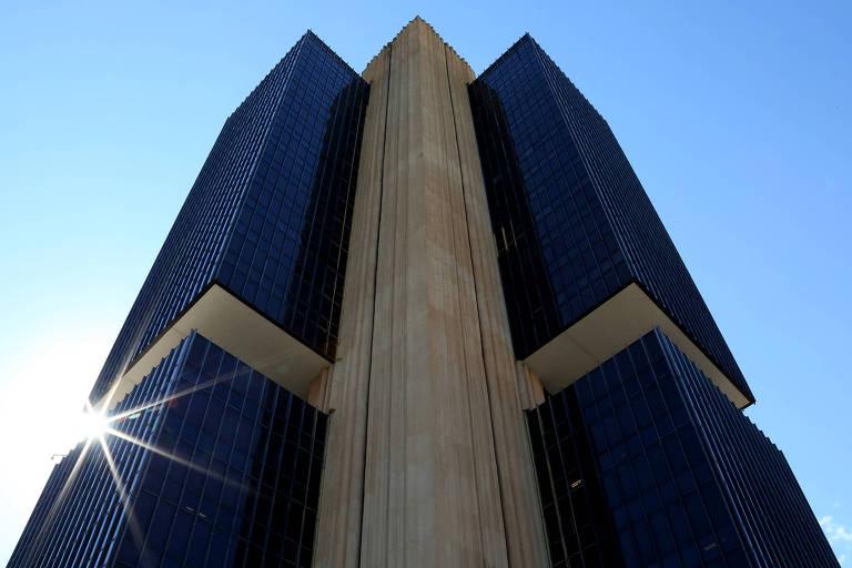 Fachada da sede do Banco Central do Brasil em Brasília