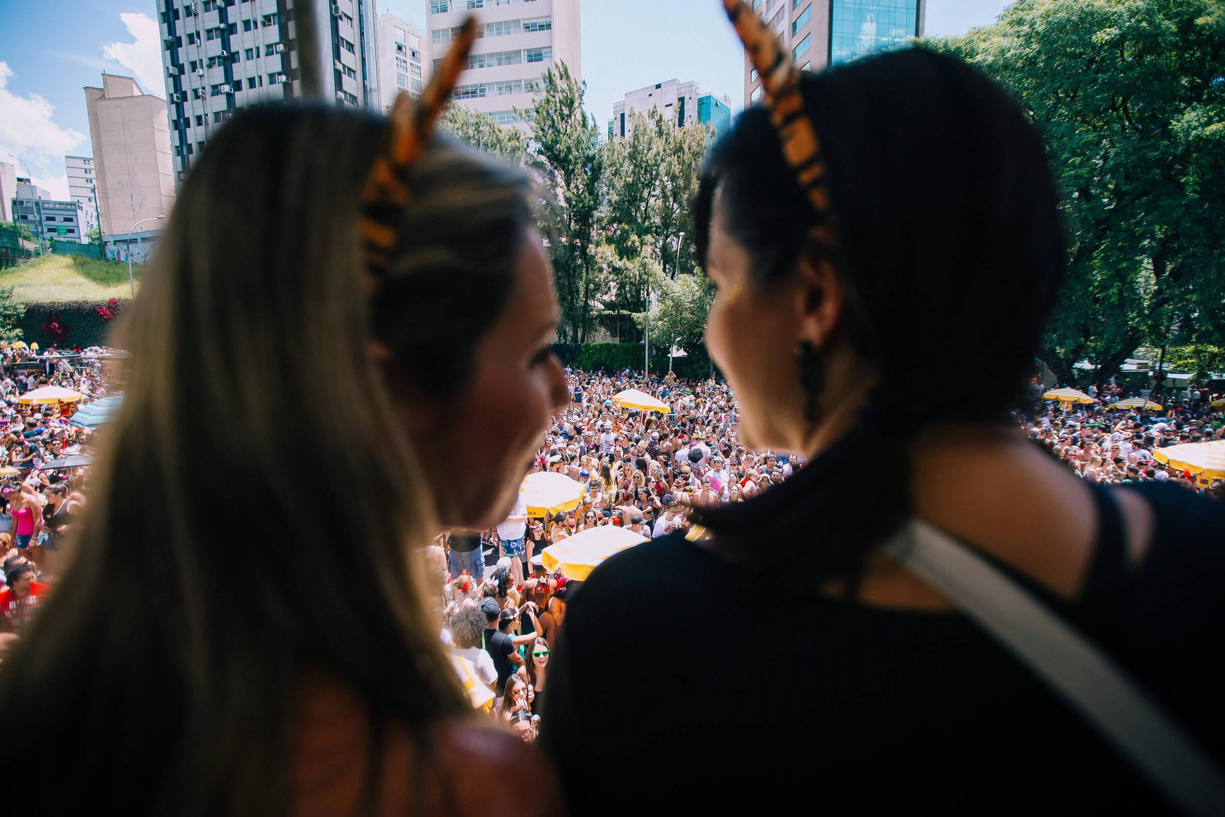 Megablocos lotam as ruas de São Paulo neste fim de semana